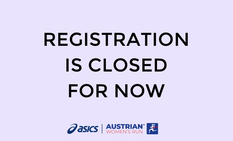 registration is closed for now